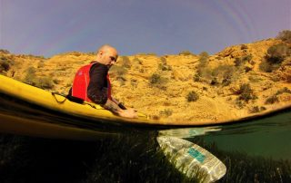 Marcos in Kayak