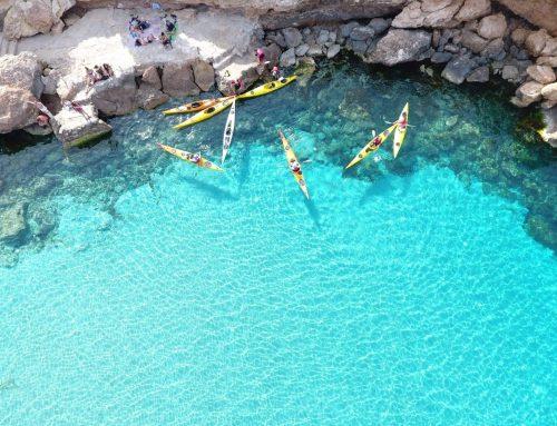 Cala Comte Kayak Excursion