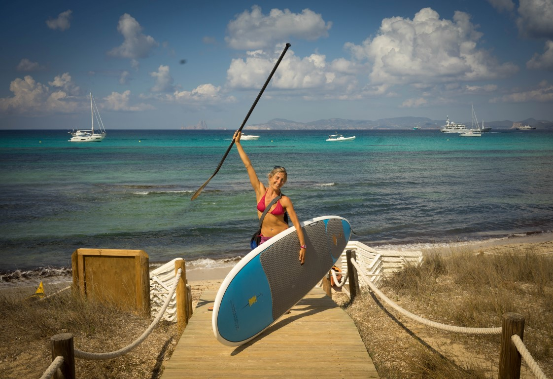 Anna SUP Yoga & Pilates teacher